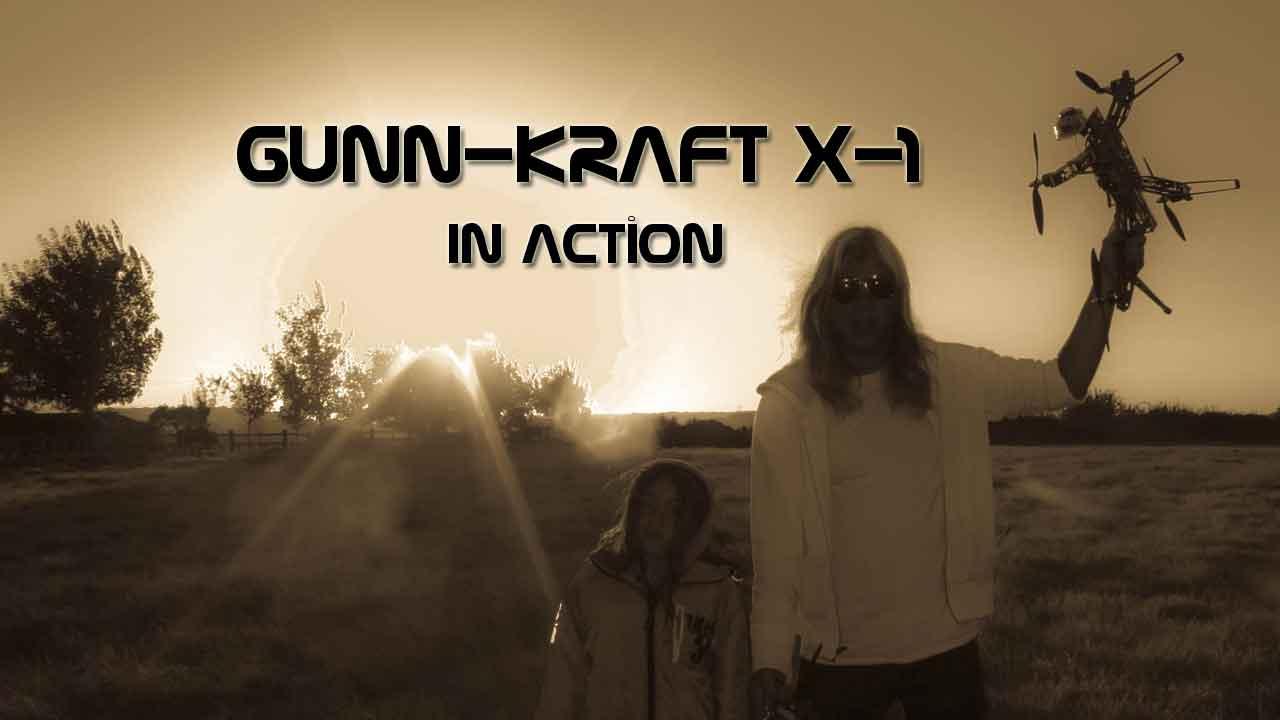 Gunn-Kraft X1 project video